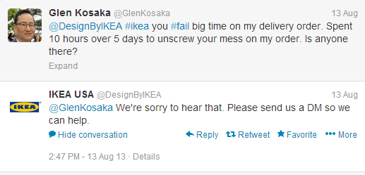 Glen to Ikea
