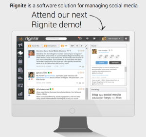 Sign up for a Rignite Demo