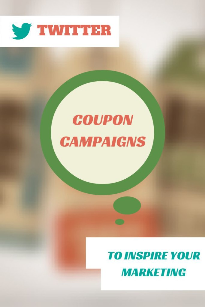 Social media coupons - 3 examples from Twitter
