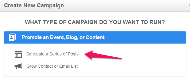 How to promote your blog with a series of posts