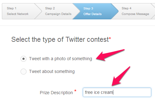 Setting up a photo contest on Twitter using Rignite