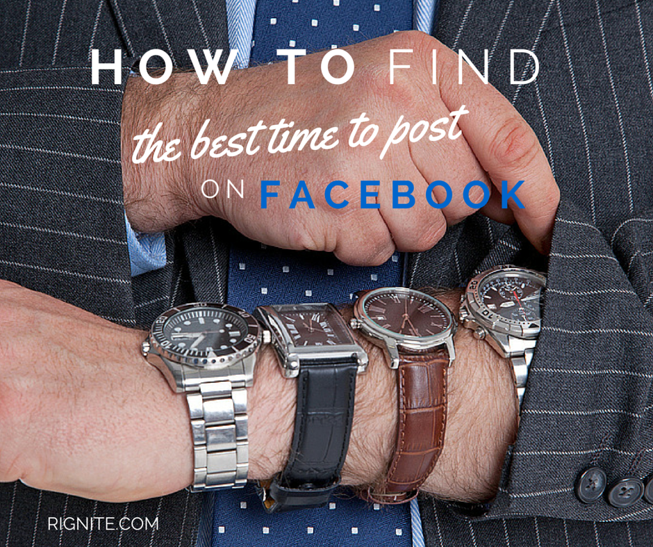 How to find the best time to post on Facebook