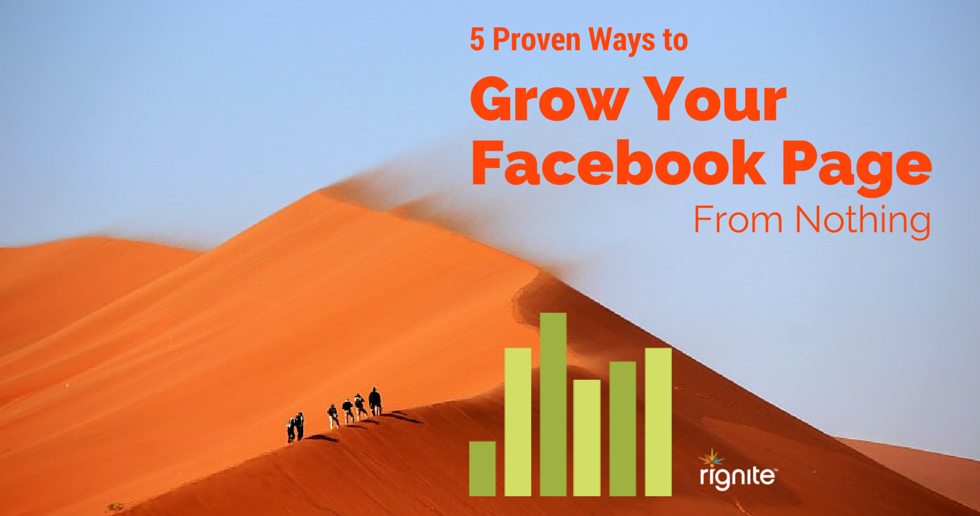 5 Proven Ways to Grow Your Facebook Fan Page