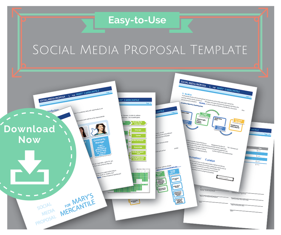 EasytoUse Social Media Proposal Template to Win Clients – Client Proposal Sample