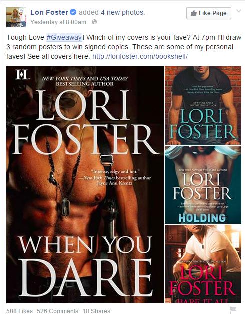 LoriFoster Facebook Giveaway