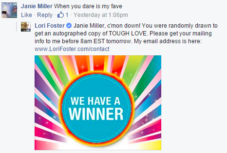 LoriFoster Winner
