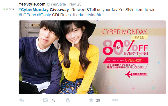 Yes-Cybermonday-campaign-twitter