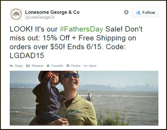 Lonesome GeorgeCo Coupon Code