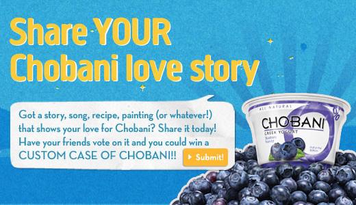 chobani-ugc