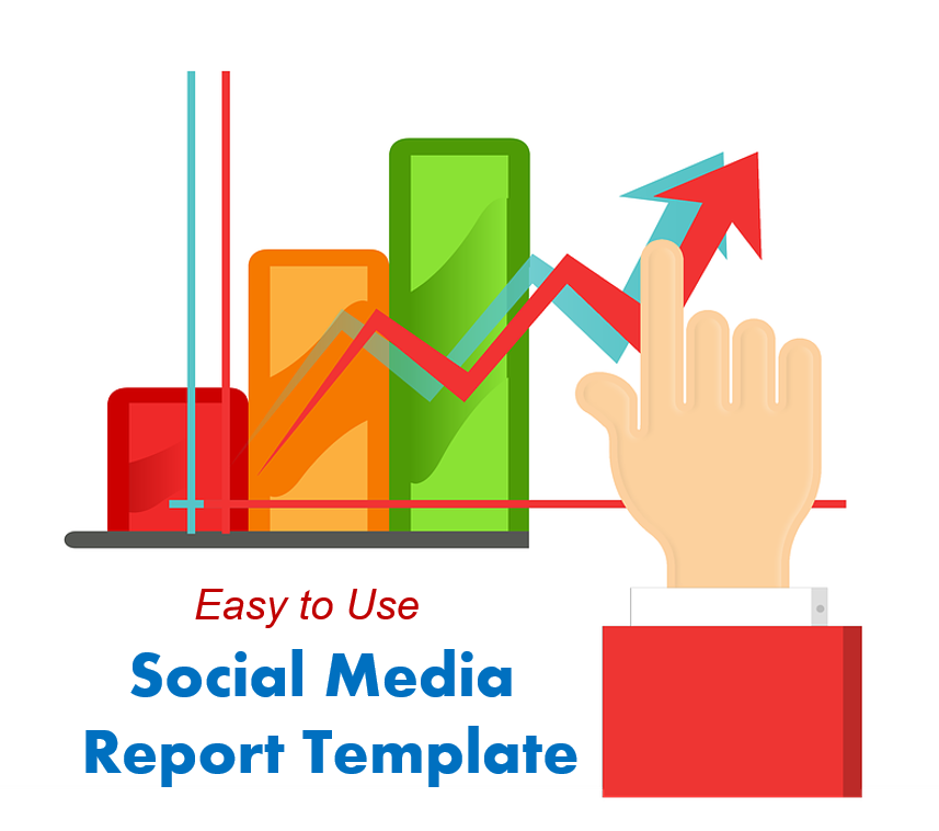EasytoUse Social Media Report Template To Impress People - Social media report template