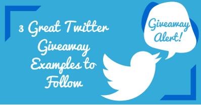 3 Great Twitter Giveaway Ideas