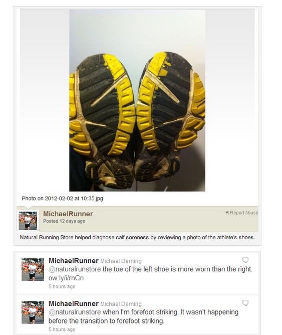 Natural Running Shoe Twitter Diagnosis