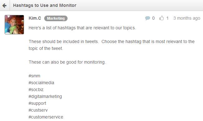 Documenting social media protocol in Rignite's Forum feature