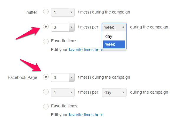 Scheduling a series of posts to promote your blog