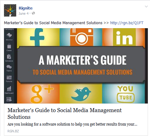 Promoting content is the best social media campaign to grow your email list
