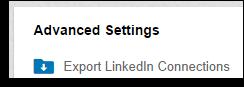LI contacts export