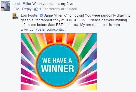 LoriFoster Winner