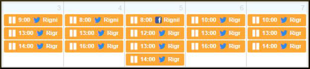 Schedule Event Promo Posts